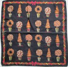 -Superbe Foulard  FURLA  100% soie  (T)BEG  vintage scarf