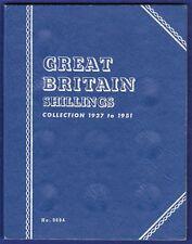 Empty Whitman Folder, GB Shillings, 1937 to 1951 (Ref. t2063)