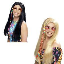 Hippie Fascia Per Capelli Con Perline /& Piume 60s 70s FESTIVAL DELLA PACE DI GROOVY FANCY DRESS