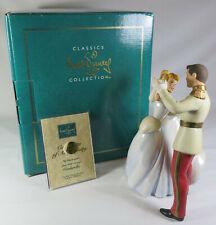 WDCC Disney Classics So This is Love Cinderella & Prince Charming W/ Box & COA