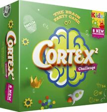 Cortex Challenge. Brain Party Game. 6+ Years. 2-6 Players. Family, Kids, Memory.