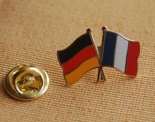 Freundschaftspin Deutschland Frankreich Pin Anstecker Button Badge Flaggenpin