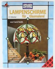 Plaid Lampenschirme fur Glasmalerei Lampshades Stained Glass Book German GR9487