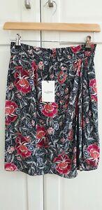 Étoile Isabel Marant Women's Black Yegart Silk Skirt Size 34