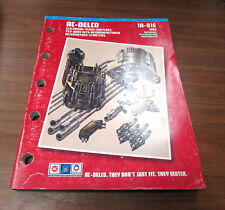 AC-Delco 1A-91E Electrical Plugs Switches Electric Ignition Brochure Manual 1989