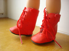 Chaussure botte rouge poupée little darling dianna effner geri