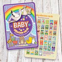 46 Baby Milestone/Landmark Event Cards • Baby Shower Gift • New Baby Gift