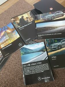GENUINE MERCEDES A-CLASS OWNERS  MANUAL 2015-2018