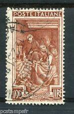 ITALIE - ITALIA 1950, timbre 589, METIERS, RECOQUILLAGE DU MAIS, oblitéré