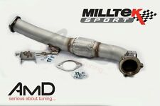 "Focus ST 225 Milltek Stainless steel large bore down pipe 3.00"" ST225"