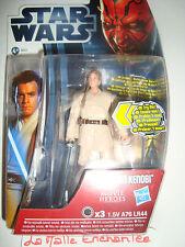 Schatulle Star Wars Figürchen Obi Wan Kenobi Ref MH16 Serie Film Heroes Laser