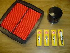 SUZUKI GSXR 1100 W Filtre à Air + Filtre à huile + BOUGIES D'ALLUMAGE gu75c