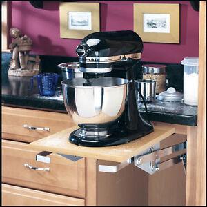 RAS-ML-HDCR  REV-A-SHELF - Heavy-duty Mixer /Appliance lift Mechanism - Chrome
