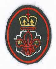 SCOUTS OF HONG KONG - HK Queen's Scout & Queen's Guides Club Membership Patch