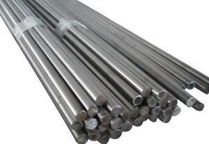 Bright Mild Steel Round Bar 4mm Dia x 1500mm EN1A x 6