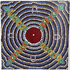 Dot Painting Aboriginal Australia Uluru Kangaroo Dingo Alice Springs Art Emu