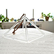 "8"" Quartz Crystal Singing Pyramid high vibrational healing tool for therapists"