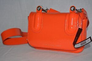 NWT MARC By Marc Jacobs Ball And Chain Bond Bubble Shoulder/Crossbody Orange
