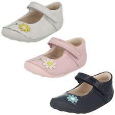 Chaussures décontractées blancs en cuir pour fille de 2 à 16 ans