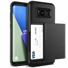 Samsung Galaxy S8 Plus Card Case Sliding Wallet Cover 2 Slots Premium Protector