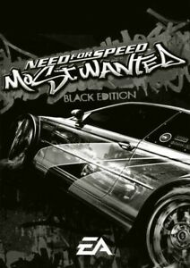 Need for Speed: Most Wanted Black Edition PC, 2005 (Instant Delivery)