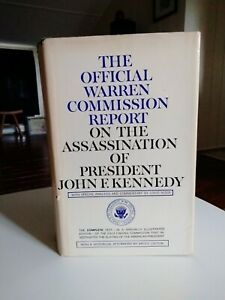 Warren Commission Report on the Assassination of John F. Kennedy 1964 Doubleday