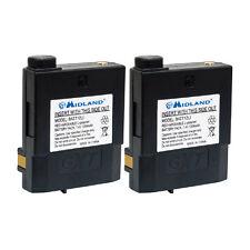 Midland BATT12Li Two Original Genuine Battery Packs for GXT2000VP4 & GXT2050VP4