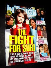 IN TOUCH Magazine November 16, 2009 Angelina Jolie and Brad Pitt Cruise vs Katie