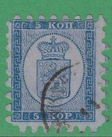 Finland 4 Very Fine  5 Kop 1860 Very Fine! - §