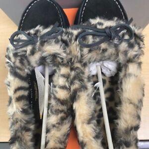 Vionic Womens Cozy Juniper Black Moccasin Slippers Size 7 NIB! Rare!