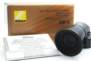 【Mint】Nikon DR-6 Right Angle Finder Viewfinder 1x 2x #RV1268