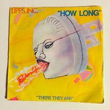 Ref972 Vinyle 45 Tours Lipps Inc How Long