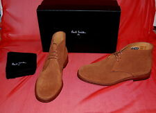 NIB PS Paul Smith mens brown suede boots UK 7.5 - US 8.5 - EU 41.5 PORTUGAL
