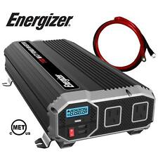 1100W 12V DC to AC Car Power Inverter Converter 3Ft Cables USB MET under UL CSA