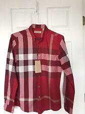 Burberry London Check Men's Casual Shirt Slim Fit  - size Large runs size medium