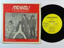 Power Pop 45 SNEAKERS Ruby On The Brink EP on Carnivorous VG++/NM