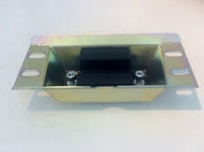 Steel gearbox mount with rubber mounting