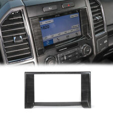 Navigation Gps Touch Screen Trim Cover For Ford F150 2015 Black Wood Grain A