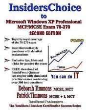 InsidersChoice to MCP/MCSE Exam 70-270 Windows Server 2003 Certification: Instal