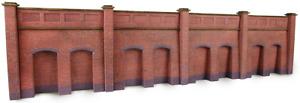 Metcalfe PN145 N Gauge Retaining Wall - Brick Card Kit