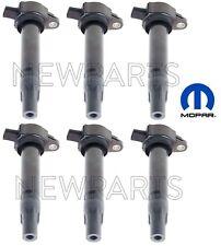 For Dodge Nitro Magnum Charger Chrysler V6 Set of 6 Direct Ignition Coils Mopar