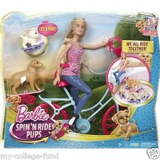 Barbie Spin N Ride Pups Playset Damaged Box CLD94 New