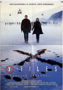 EBOND X-Files -Voglio Crederci - Locandina Originale Cinema O_L0114