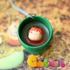 Miyazaki Hayao Anime Ponyo Ponyo on the Cliff Keychain Phone Key Ring Cos Gift