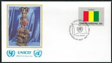 United Nations Fdc (Flag Series) Guinea - Cacheted - Nice!