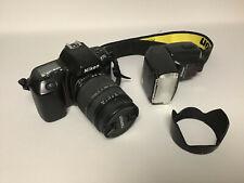Nikon F70 avec objectif Tamron 28-300 + Flash Speedlight SB-25