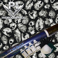 HYDROGRAPHIC KIT HYDRODIPPING WATER TRANSFER HYDRO CARNAGE X BOAR SKULLS RC25-28