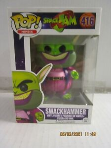 FUNKO POP! Movies Space Jam #416 Swackhammer NIB See Description