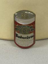 Budweiser Beer Can Pin pinback