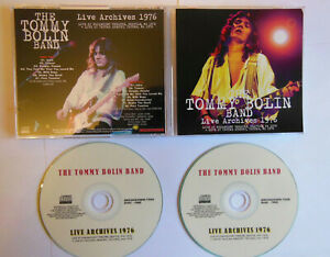 TOMMY BOLIN   //  LIVE ARCHIVES 1976  //  BREAKDOWN label